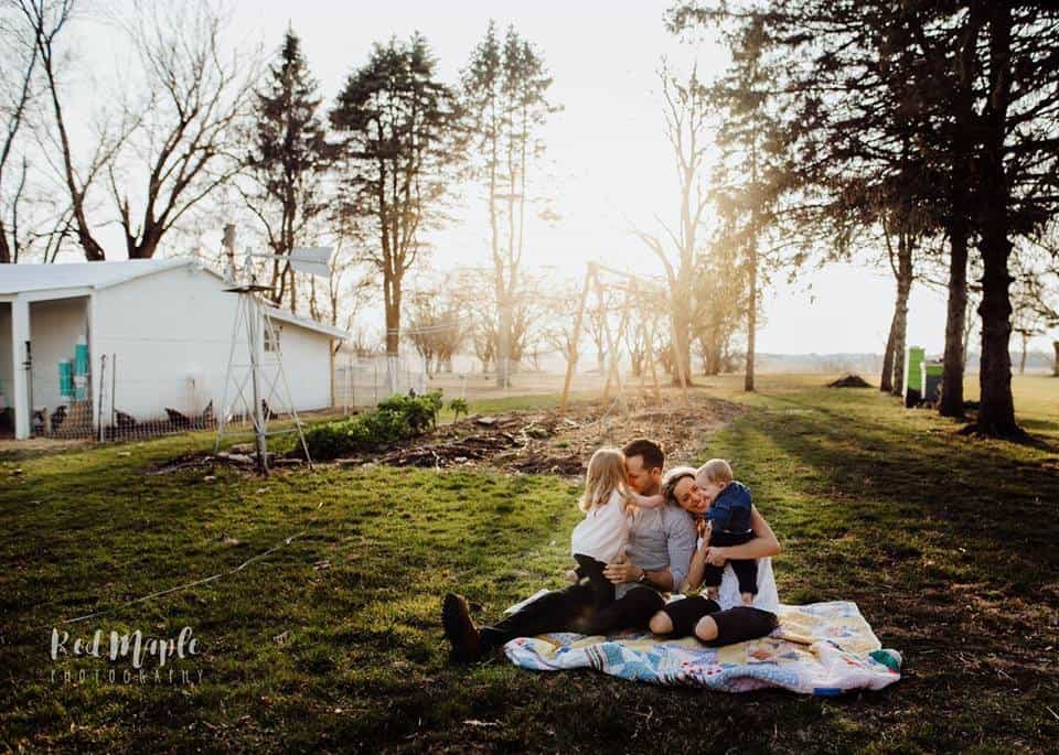Frenchie Farm Red Maple Photography lifestyle photography session