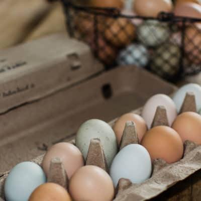 Easy egg salad recipe with farm fresh eggs