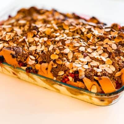 Cranberry French Toast Casserole – Gluten Free