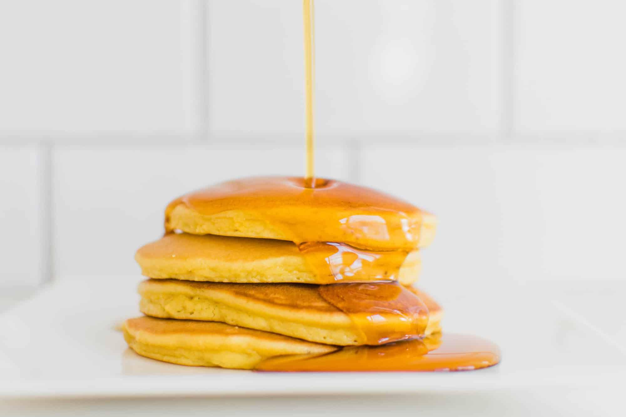 Frenchie Farm paleo pancake recipe: gluten free + grain free pancakes
