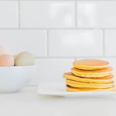 Paleo pancake recipe: gluten free/grain free pancakes